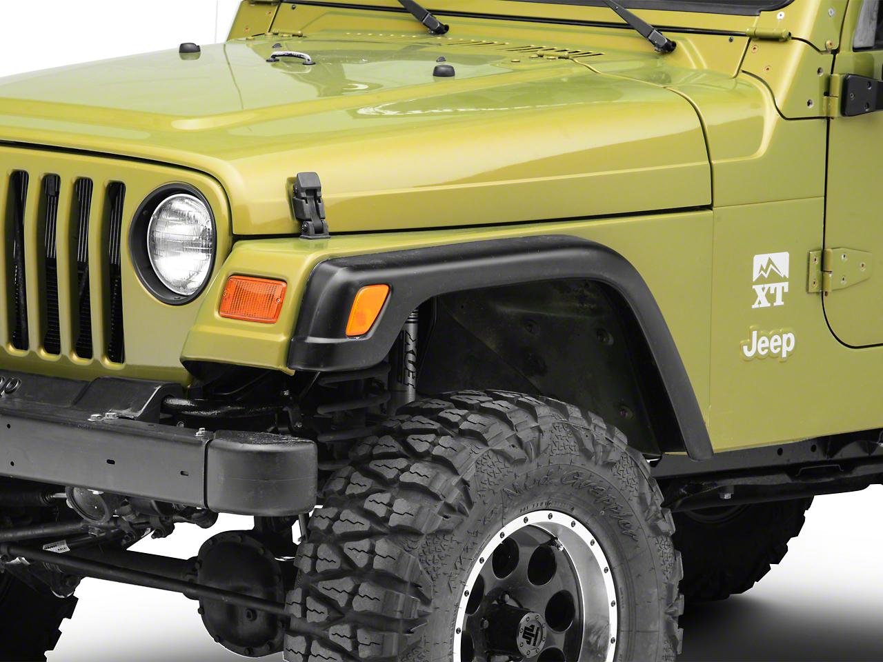 Omix-ADA Replacement Steel Fender - Left Front (97-06 Jeep Wrangler TJ)
