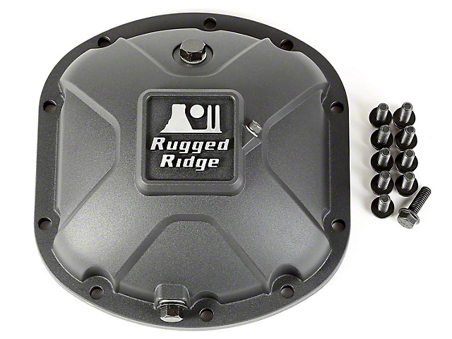Rugged Ridge Dana 30 Boulder Aluminum Differential Cover (97-18 Jeep Wrangler TJ & JK)