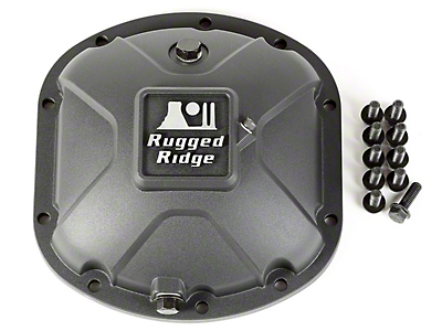 Rugged Ridge Dana 30 Boulder Aluminum Differential Cover (97-18 Wrangler TJ & JK)