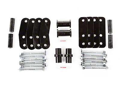Rugged Ridge HD Leaf Spring Shackle Kit (87-95 Wrangler YJ)