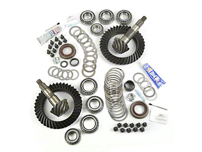 Alloy USA Dana 44F/44R Ring Gear and Pinion Kit w/ Master Overhaul Kit - 4.10 Gears (07-18 Jeep Wrangler JK Rubicon)