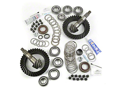 Alloy USA Dana 44F/44R Ring Gear and Pinion Kit w/ Master Overhaul Kit - 4.88 Gears (07-18 Wrangler JK Rubicon)