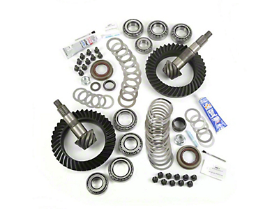 Alloy USA Dana 44F/44R Ring Gear and Pinion Kit w/ Master Overhaul Kit - 5.13 Gears (07-18 Wrangler JK Rubicon)