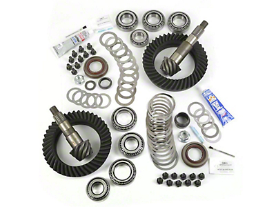 Alloy USA Dana 44F/44R Ring Gear and Pinion Kit w/ Master Overhaul Kit - 5.38 Gears (07-18 Wrangler JK Rubicon)