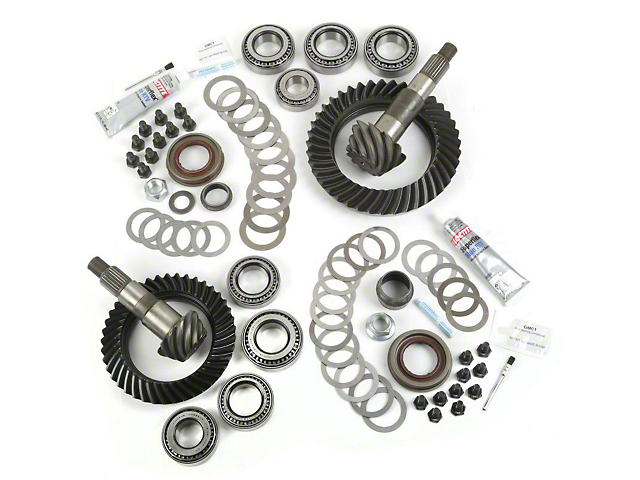 Alloy USA Jeep Wrangler Dana 30F/44R Ring Gear and Pinion