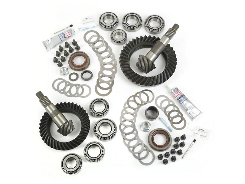Alloy USA Dana 30 Front Axle/44 Rear Axle Ring and Pinion Gear Kit with Master Overhaul Kit; 4.88 Gear Ratio (07-18 Jeep Wrangler JK, Excluding Rubicon)