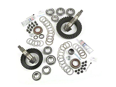 Alloy USA Dana 30F/44R Ring Gear and Pinion Kit w/ Master Overhaul Kit - 5.13 Gears (07-18 Wrangler JK)