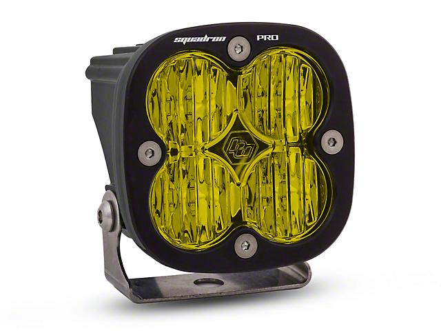 Baja Designs Squadron Pro Amber LED Light - Wide Cornering Beam