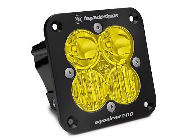 Baja Designs Squadron Pro Flush Mount Amber LED Light - Driving Beam