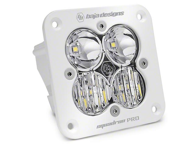 Baja Designs Squadron Pro Flush Mount White LED Light - Driving Beam