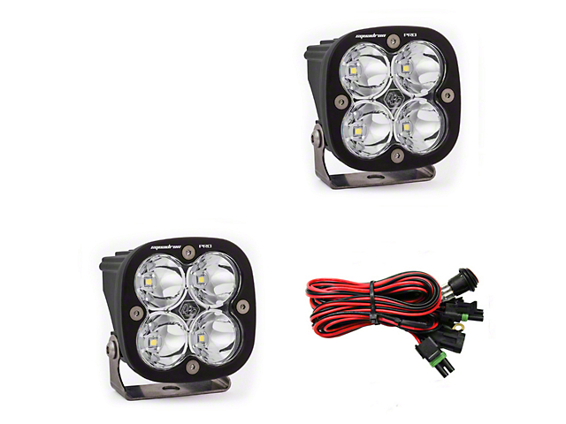 Baja Designs Squadron Pro LED Light - Spot Beam - Pair