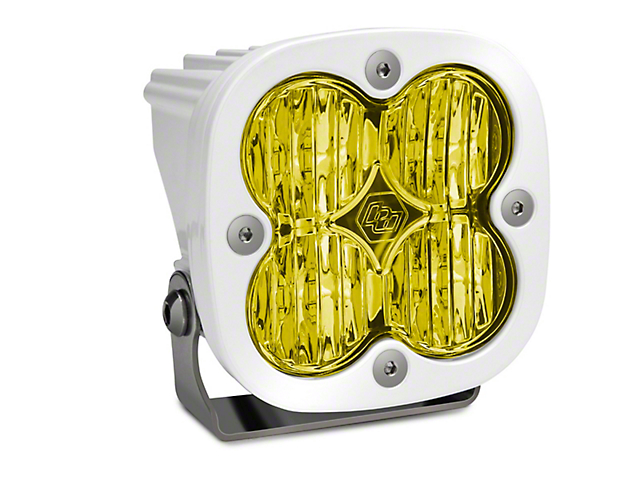 Baja Designs Squadron Pro White Amber LED Light - Wide Cornering Beam - Pair