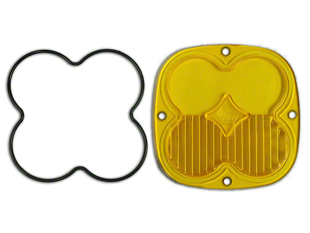Baja Designs XL Series Amber Lens Kit - Driving/Combo (87-19 Jeep Wrangler YJ, TJ, JK & JL)