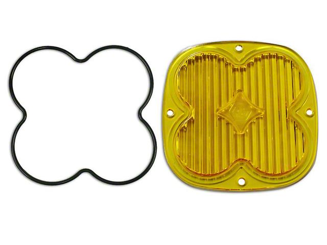 Baja Designs XL Series Amber Lens Kit - Wide Cornering (87-19 Jeep Wrangler YJ, TJ, JK & JL)