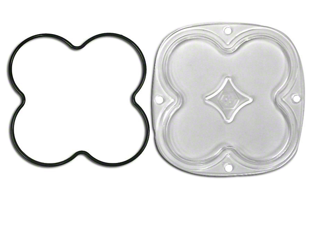 Baja Designs XL Series Lens Kit - Spot (87-19 Jeep Wrangler YJ, TJ, JK & JL)