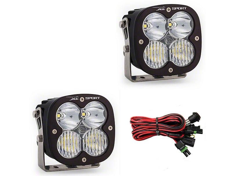 Baja Designs XL Sport LED Light - Driving/Combo Beam - Pair