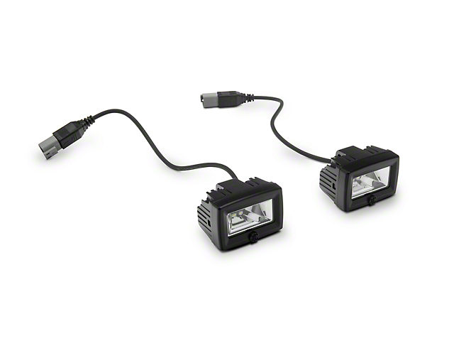 KC HiLiTES C-Series C2 Backup Flood Lights; Pair