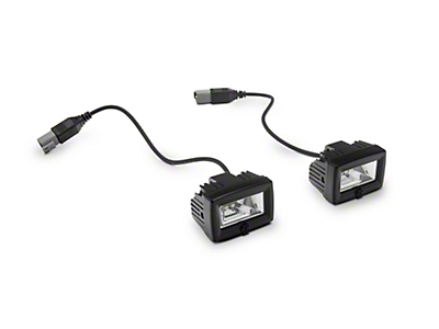 KC HiLiTES C-Series C2 Backup Flood Lights - Pair (87-18 Jeep Wrangler YJ, TJ, JK & JL)
