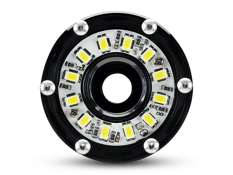 KC HiLiTES 2 in. Cyclone Clear LED Light - Flood Beam