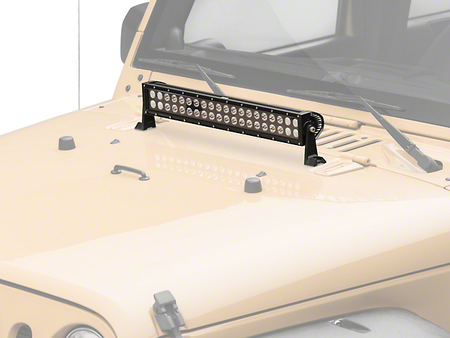 KC HiLiTES 20 in. C-Series C20 LED Light Bar - Combo Beam