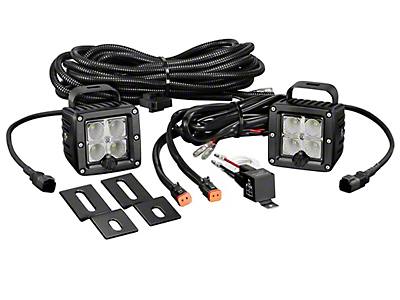 KC HiLiTES 3 in. C-Series C3 LED Back Up Light - Pair