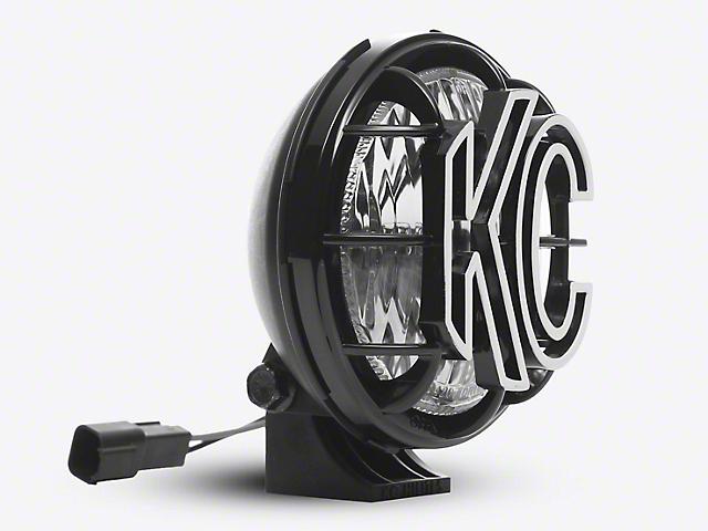 KC HiLiTES 5-Inch Apollo Pro Halogen Light; Spread Beam