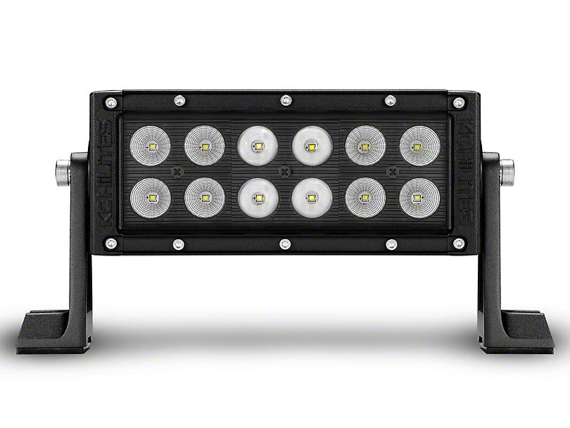 KC HiLiTES 6 in. C-Series C6 LED Light Bar - Combo Beam