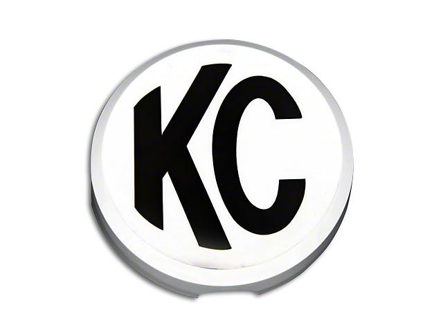KC HiLiTES 6-Inch Daylighter/Slimlite Cover; Black
