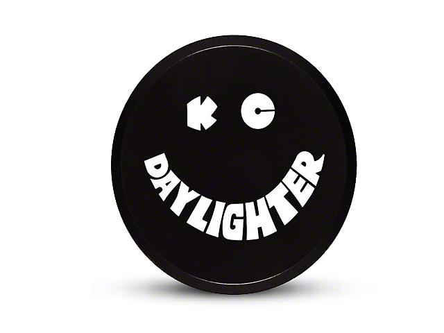 KC HiLiTES 6 in. Daylighter/Slimlite Cover - Black (87-19 Jeep Wrangler YJ, TJ, JK & JL)