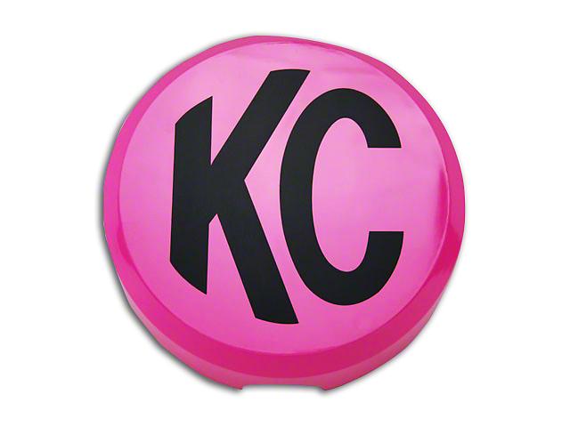KC HiLiTES 6 in. Daylighter/Slimlite Cover - Pink (87-18 Jeep Wrangler YJ, TJ, JK & JL)
