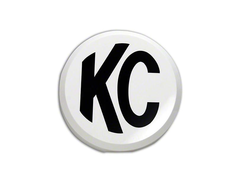 KC HiLiTES 6 in. Daylighter/Slimlite Cover - White