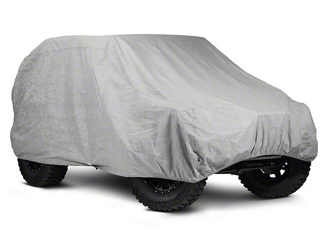 Rugged Ridge Car Cover 3-Layer (07-18 Jeep Wrangler JK 2 Door)