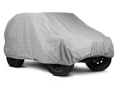 Rugged Ridge Car Cover 3-Layer (07-18 Jeep Wrangler JK 2 Door)