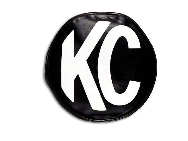 KC HiLiTES 8 in. Soft Vinyl Cover for Round Lights - Black
