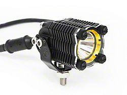 KC HiLiTES KC Flex Array LED Light Bar Shield; Amber