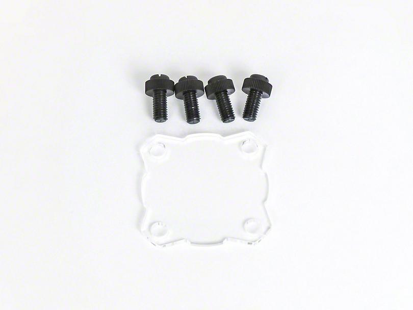 KC HiLiTES Clear Light Shield for KC Flex (87-20 Jeep Wrangler YJ, TJ, JK & JL)