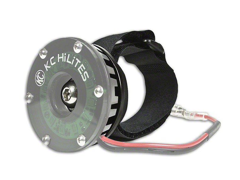 KC HiLiTES Cyclone Tube Mount Adapter for 1.75 to 3-Inch Tubes