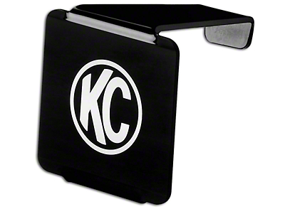 KC HiLiTES Hard Cover for 3 in. C3 Cube Light - Black (87-18 Jeep Wrangler YJ, TJ, JK & JL)