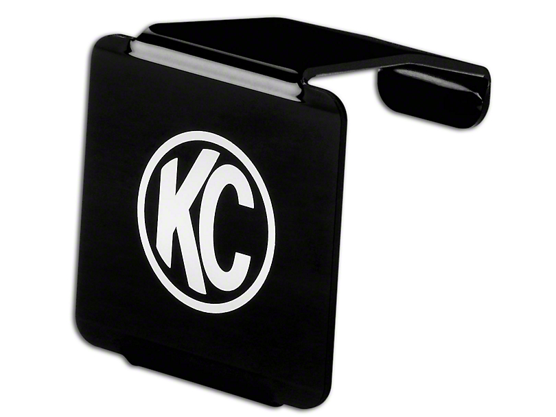 KC HiLiTES Hard Cover for 3 in. LZR Cube Light - Black (87-18 Jeep Wrangler YJ, TJ, JK & JL)