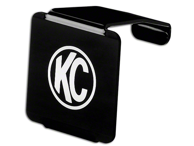 KC HiLiTES 3-Inch LZR Cube Light Hard Cover; Black