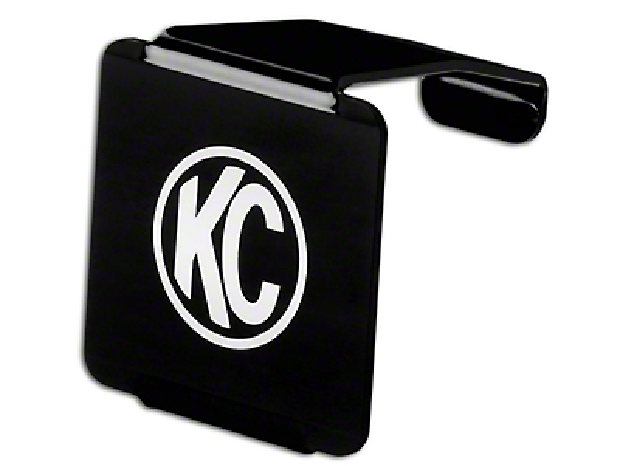 KC HiLiTES Hard Cover for 3 in. LZR Cube Light - Black (87-18 Wrangler YJ, TJ, JK & JL)