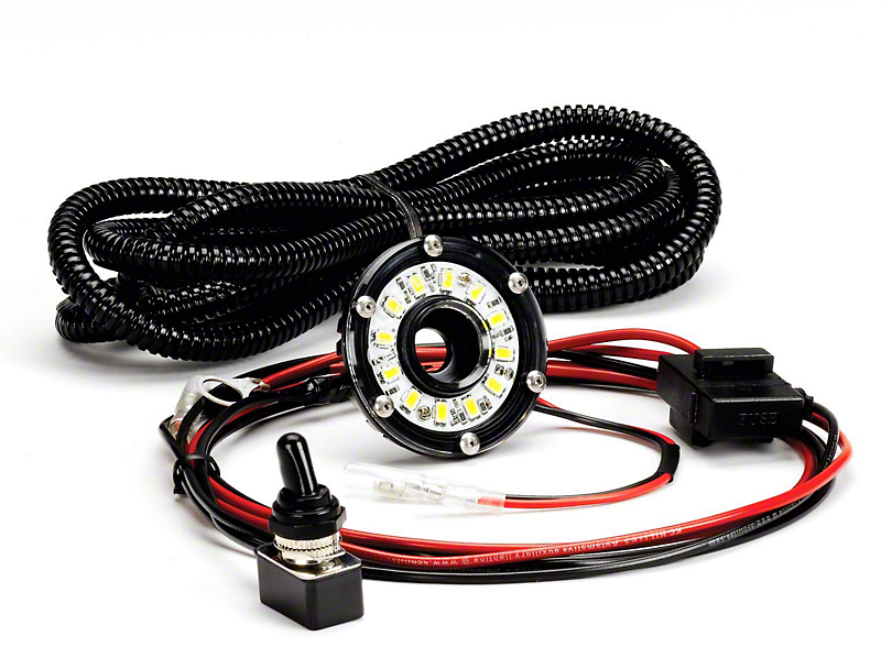 KC HiLiTES Cyclone LED Under Hood Lighting Kit (87-18 Wrangler YJ, TJ & JK)