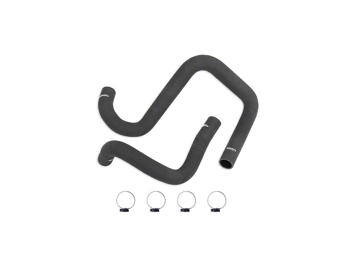 Mishimoto Silicone Radiator Hose Kit - Matte Black (12-18 Jeep Wrangler JK)