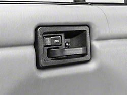 Interior Door Handle; Driver Side (87-06 Jeep Wrangler YJ & TJ)