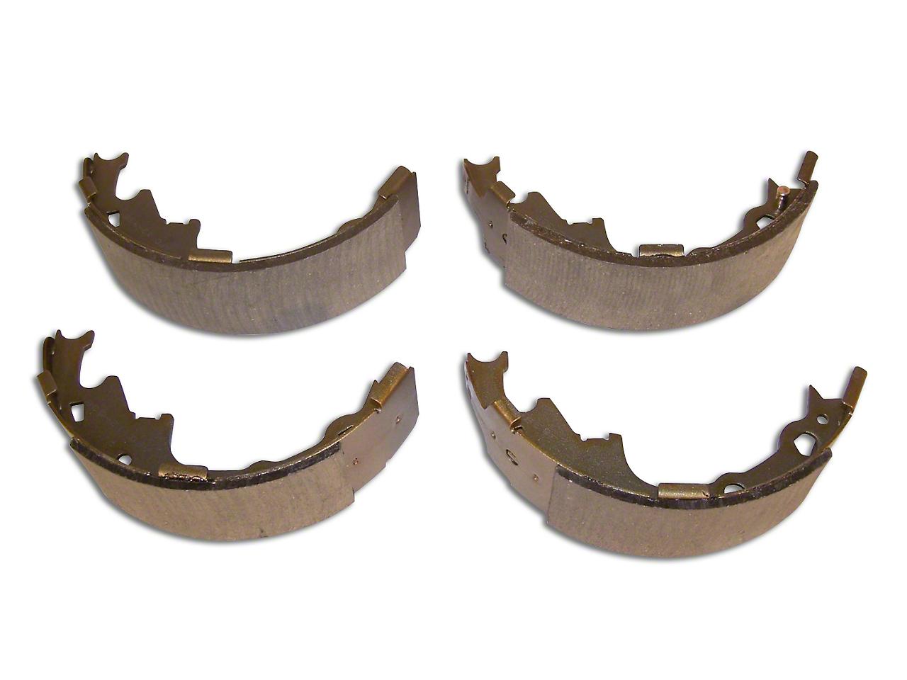 Crown Automotive Brake Shoe & Lining Set - 9 in. x 2-1/2 in. (90-06 Jeep Wrangler YJ & TJ)