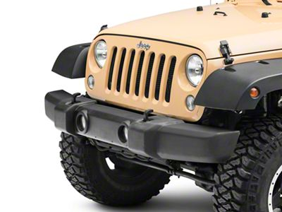 Omix-ADA Front Bumper Cover w/ Fog Light Openings - Textured Black (07-18 Jeep Wrangler JK)