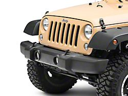 Front Bumper Cover with Fog Light Openings (07-18 Jeep Wrangler JK)