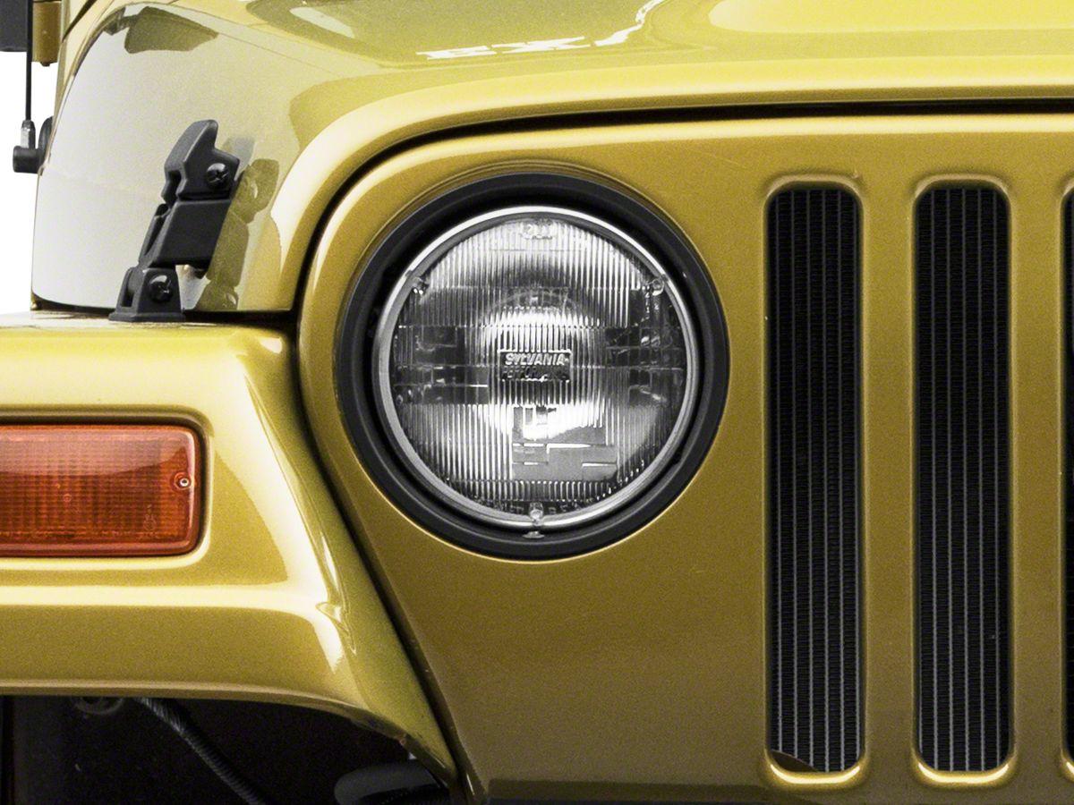97 jeep wrangler headlight diagram jeep wrangler headlight assembly  97 06 jeep wrangler tj   jeep wrangler headlight assembly  97 06