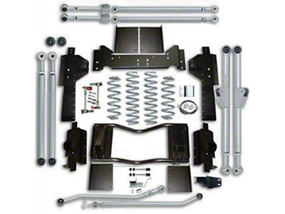 Rubicon Express 3.5 in. Progressive Coil Spring Extreme Duty 4-Link Front & 3-Link Rear Long Arm Suspension Lift Kit (07-18 Jeep Wrangler JK 4 Door)