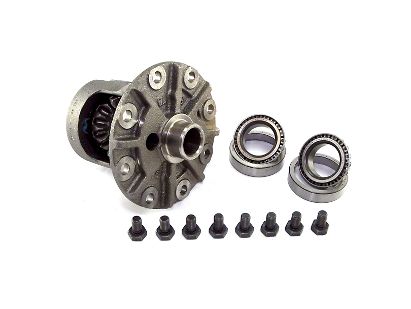 Dana 35 Rear Axle Trac-Loc Differential Carrier; 3.55 to 4.10 Gear Ratio (97-06 Jeep Wrangler TJ, Excluding Rubicon)
